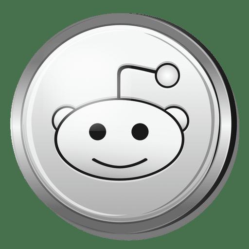 Reddit silver icon AD , spon, Sponsored, icon, silver