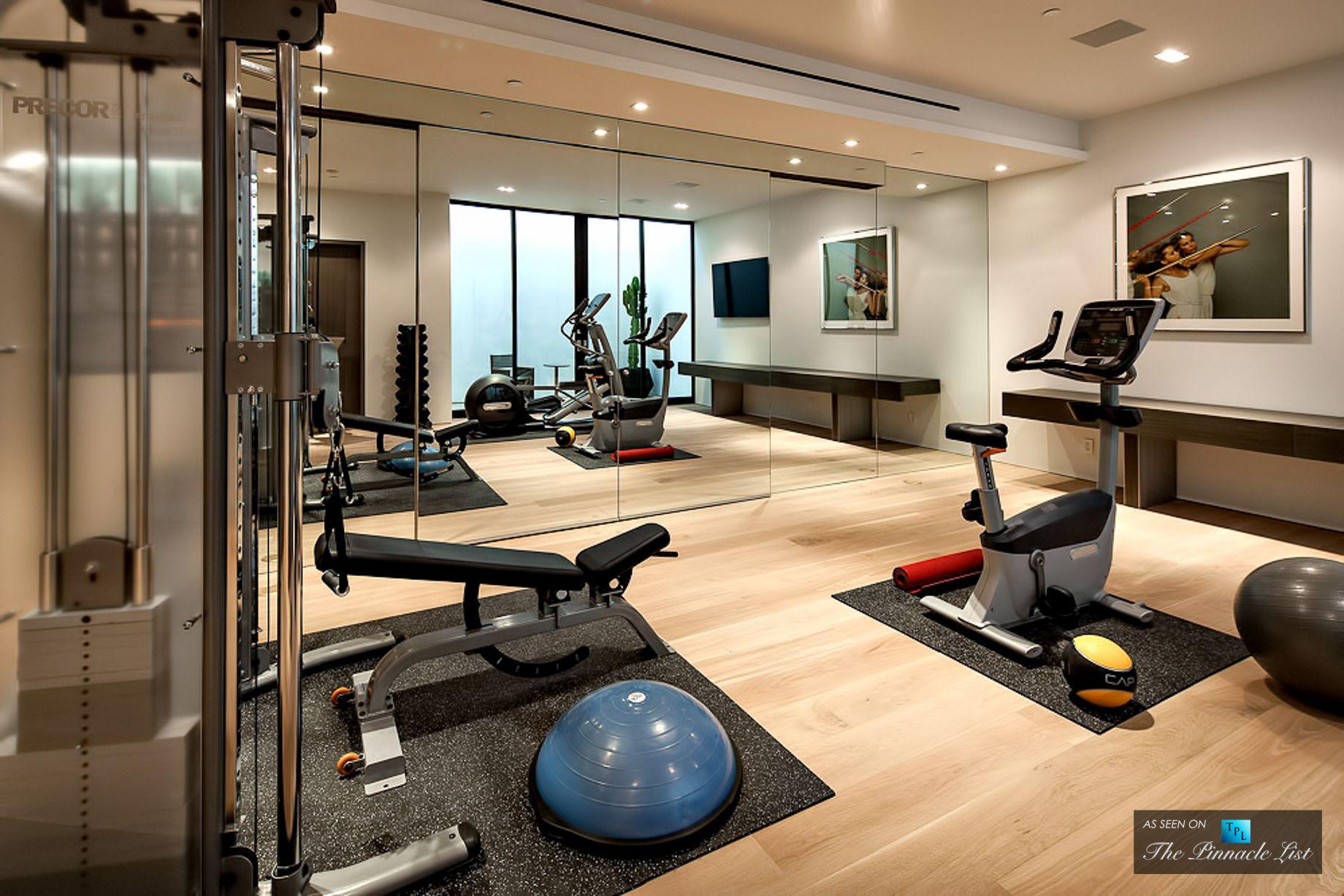 Luxury Basement Home Gym