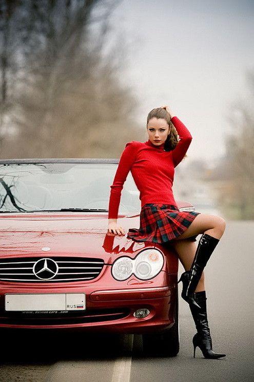 Sexy Short Plaid Skirt