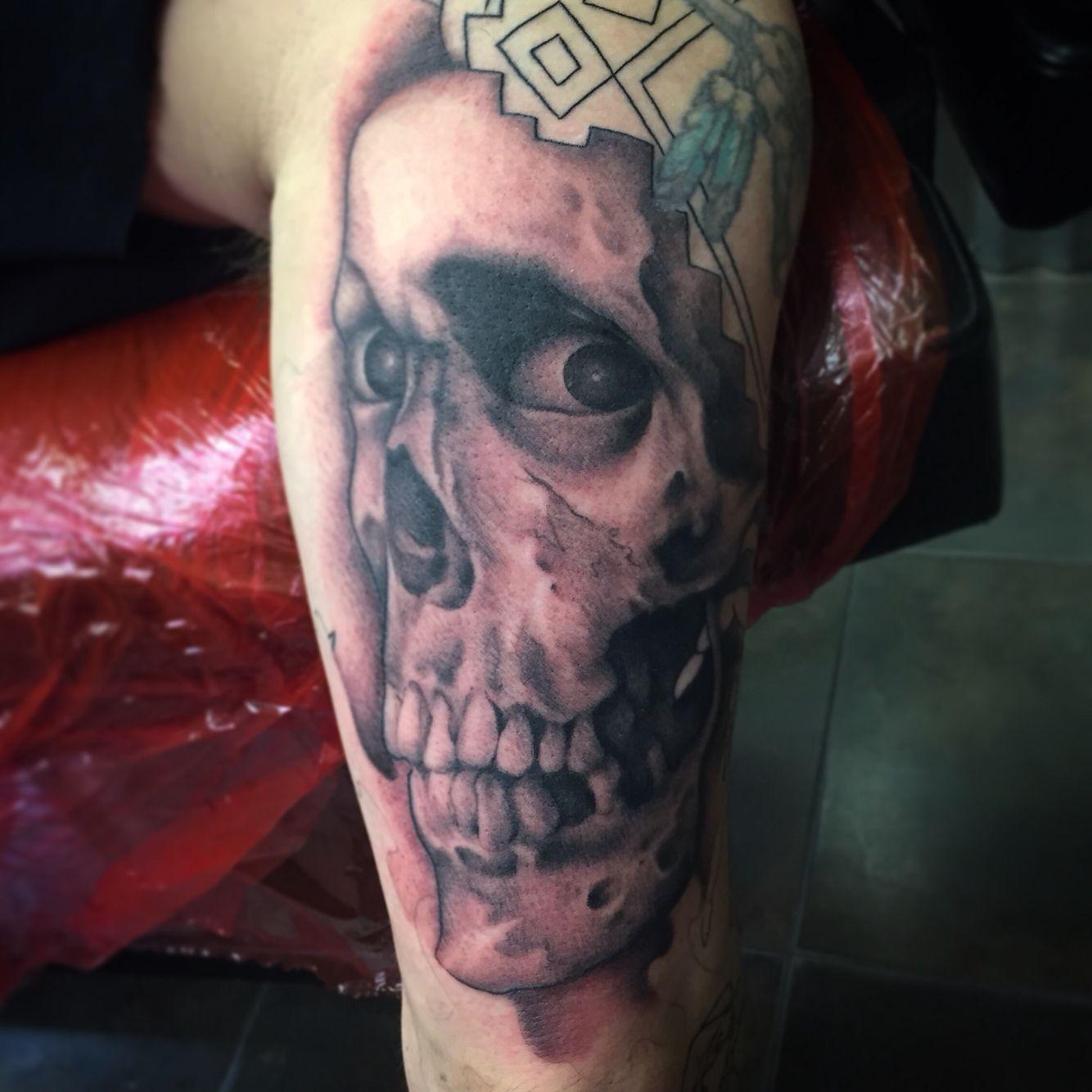 Electric chair tattoo - Tattoo