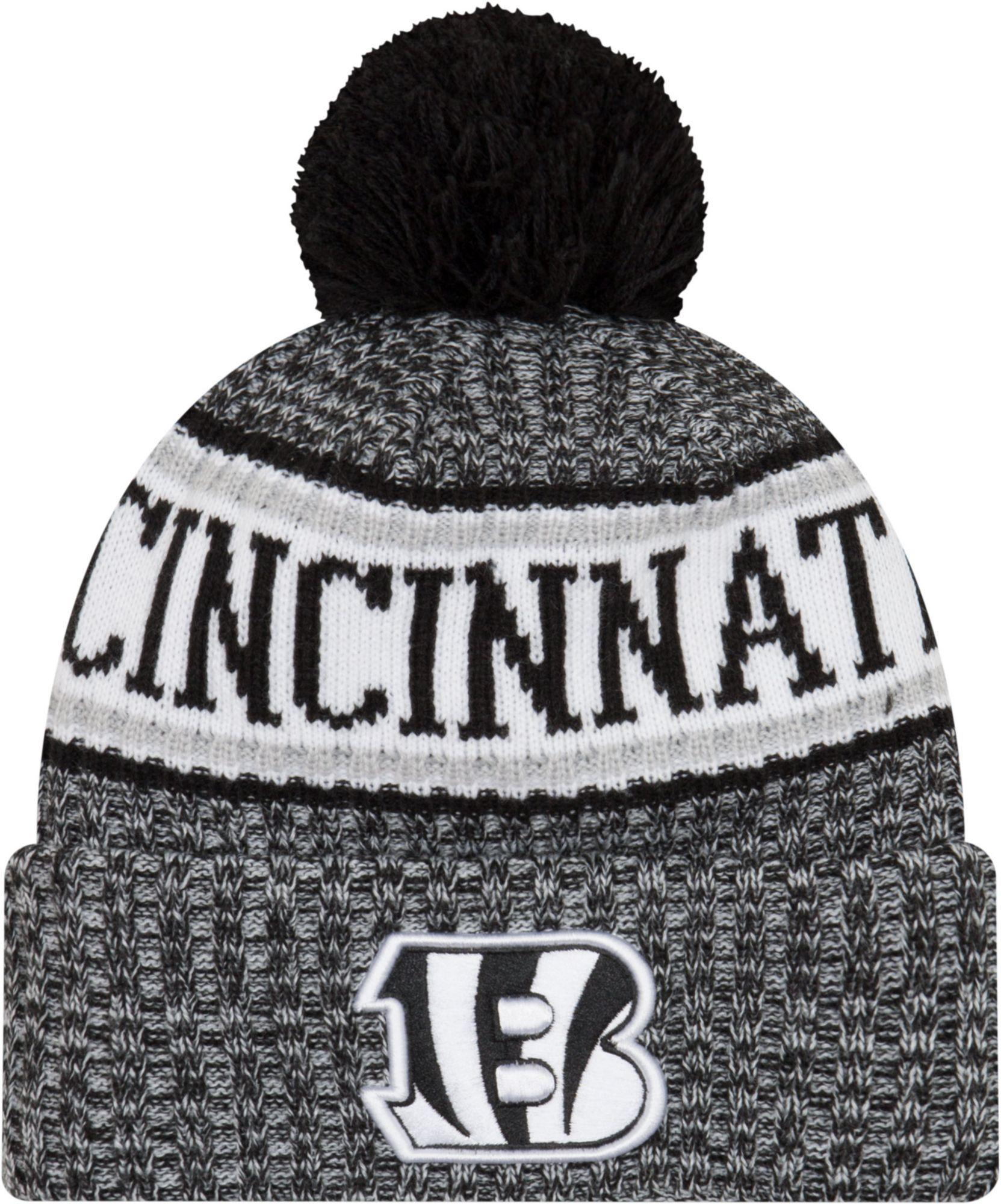 1dd8b5b6 New Era Men's Cincinnati Sideline Cold Weather Reverse Black Sport Knit