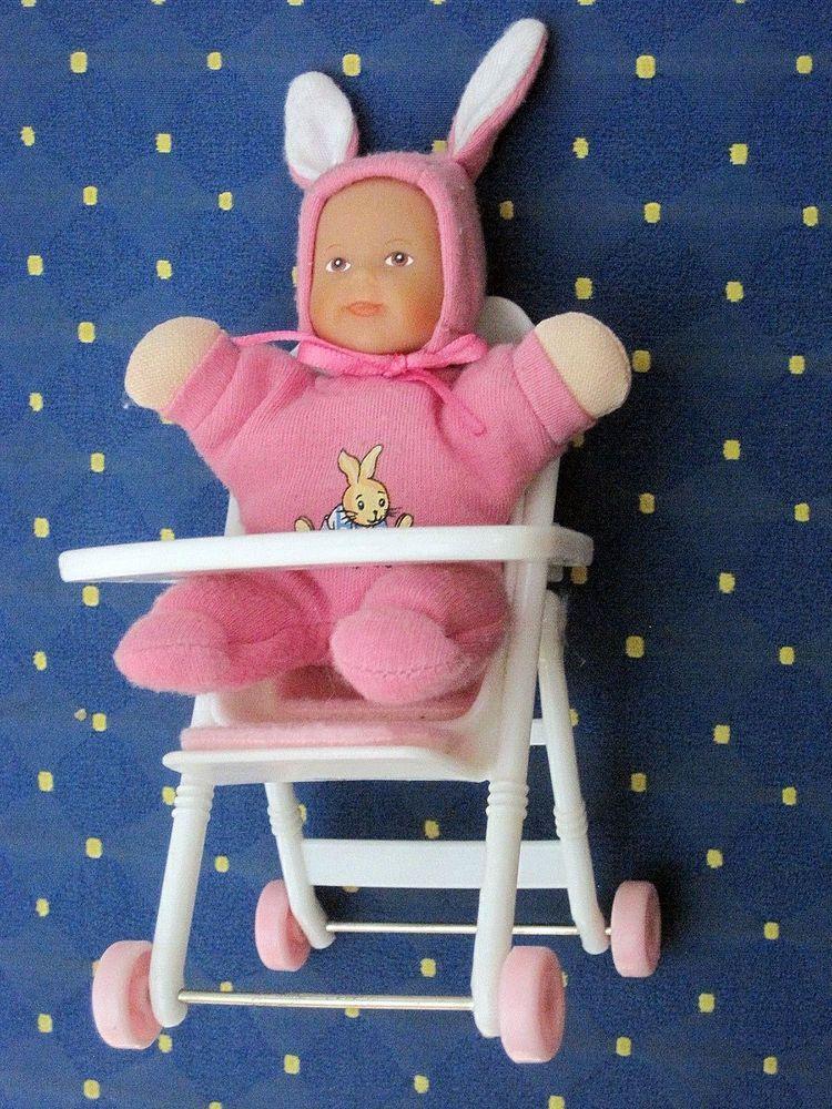puppenstube puppen hochstuhl mit p ppchen fl mmchen spielzeug kleiner stuhl zapf creation. Black Bedroom Furniture Sets. Home Design Ideas