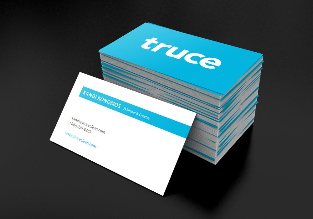 Truce of Phoenix Arizona Business Card Graphic Design   Business ...