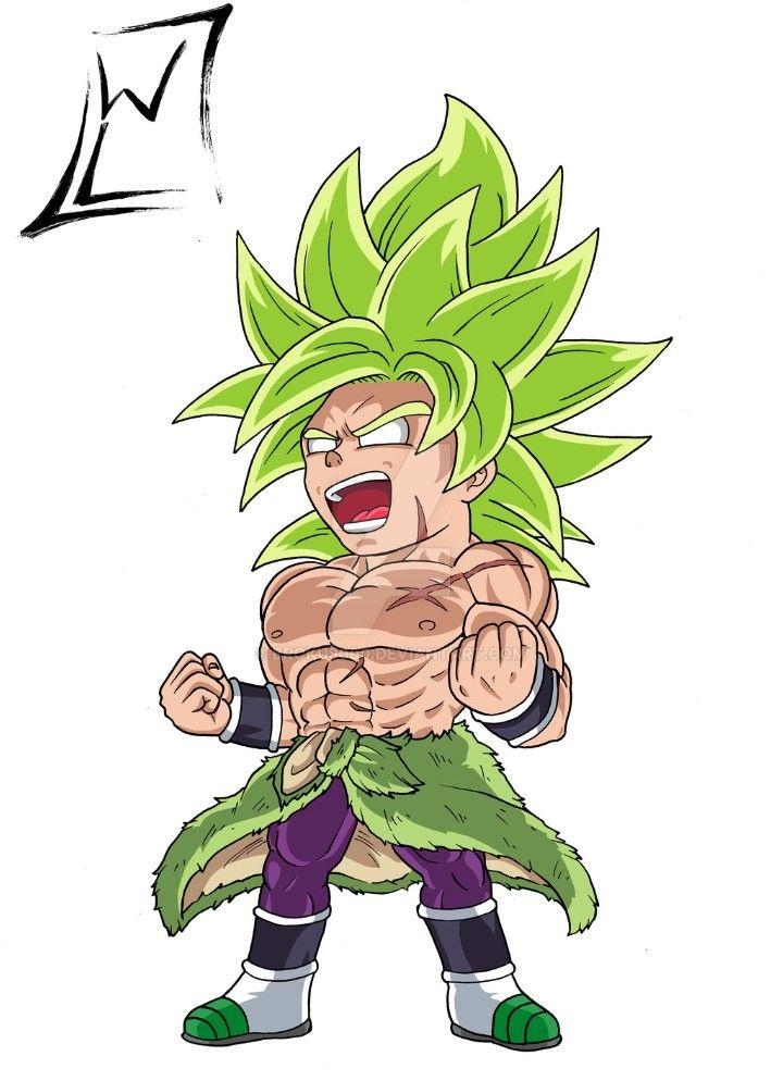 Chibi Broly Dragon Ball Super Dragon Ball Tattoo Dragon Ball Art Dragon Ball