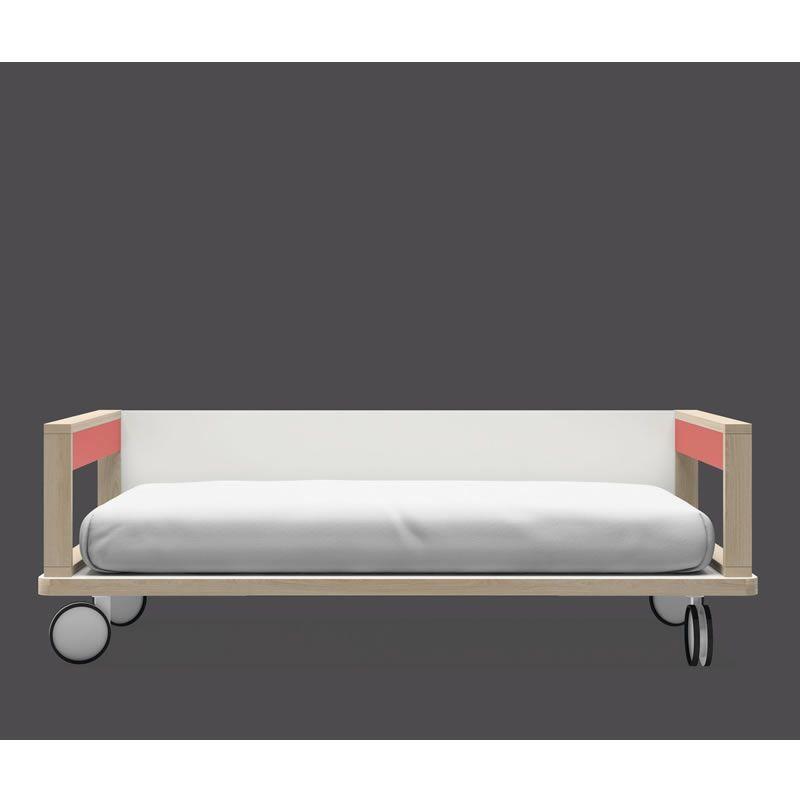 PIATTAFORMA 1 - letto con ruote e sponde | Lagrama | Pinterest ...