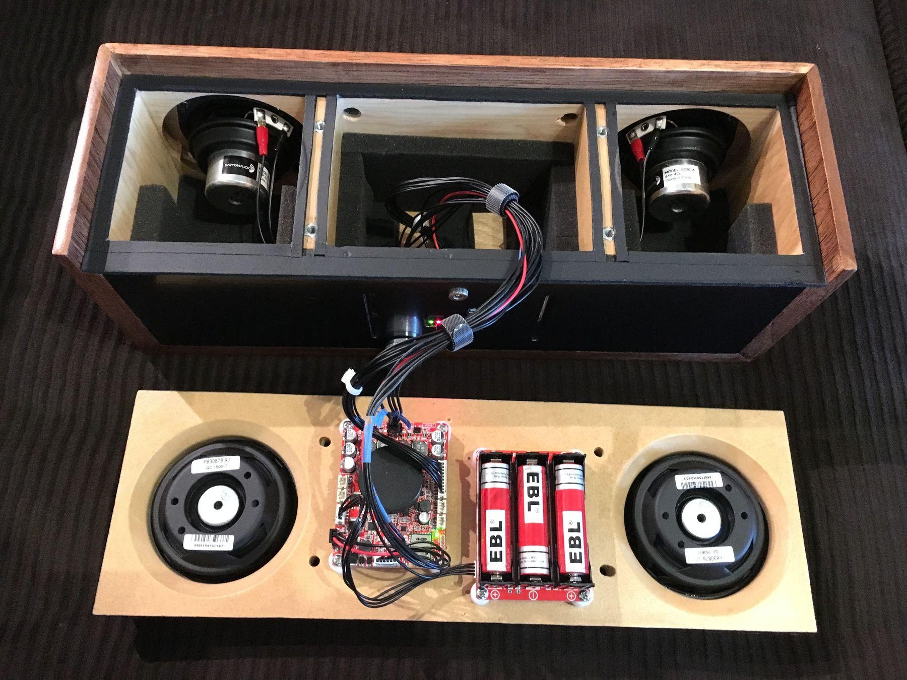Dayton audio kab250 2x50w class d audio amplifier board