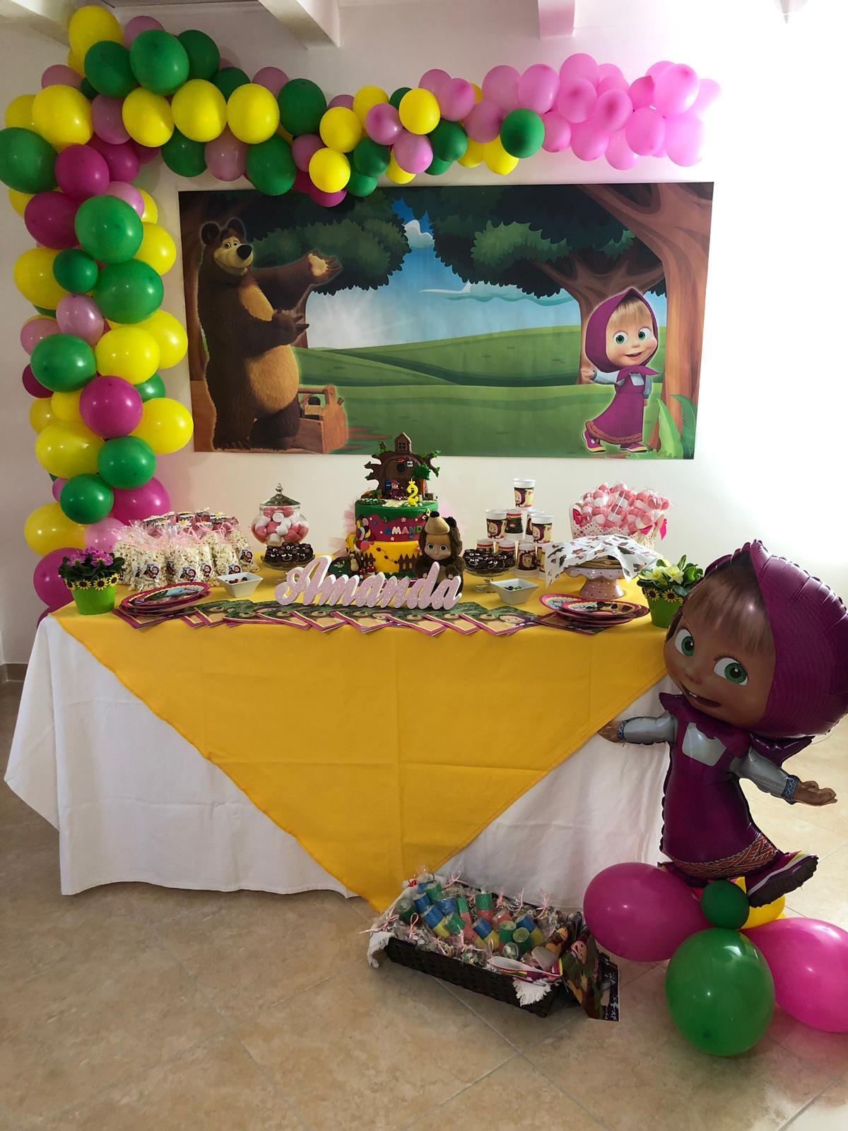 Masha e Orso #torta #compleanno #bambina #2anni # ...