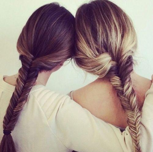 33 Peinados que Puedes Hacerte con tu Mejor Amiga o Hermana