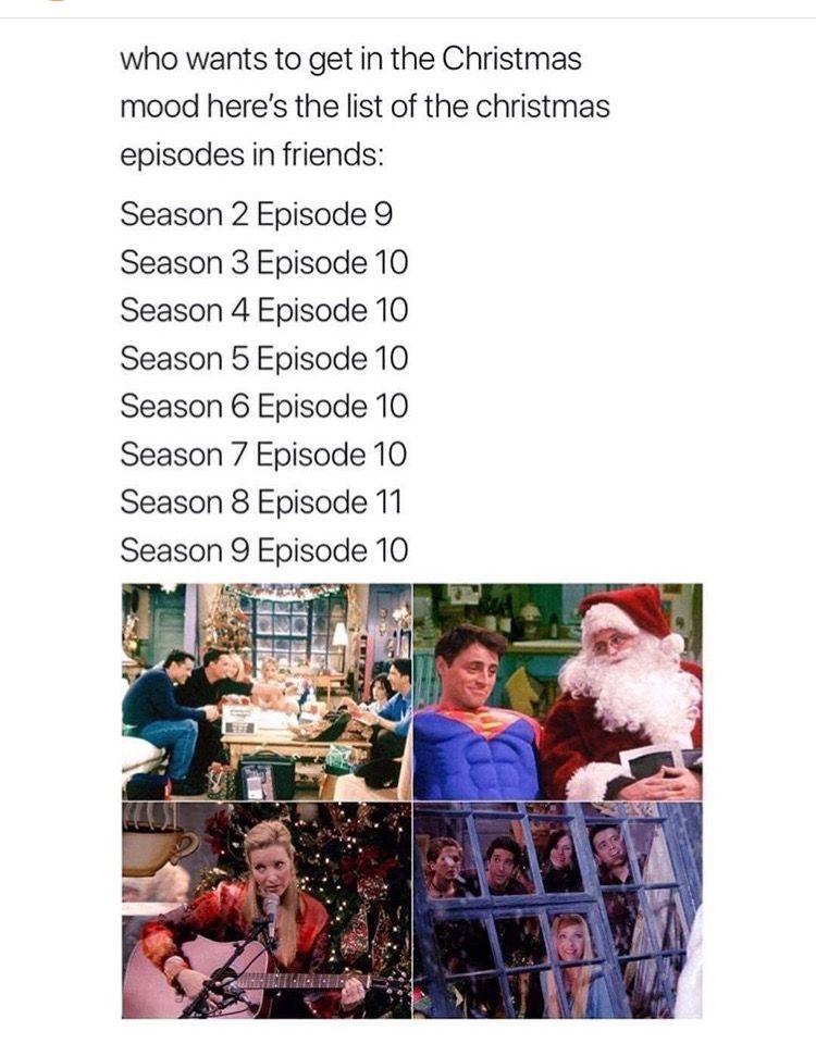 Friends Christmas Episodes Funniest Friends Episodes Friends Christmas Episode Friends Episodes