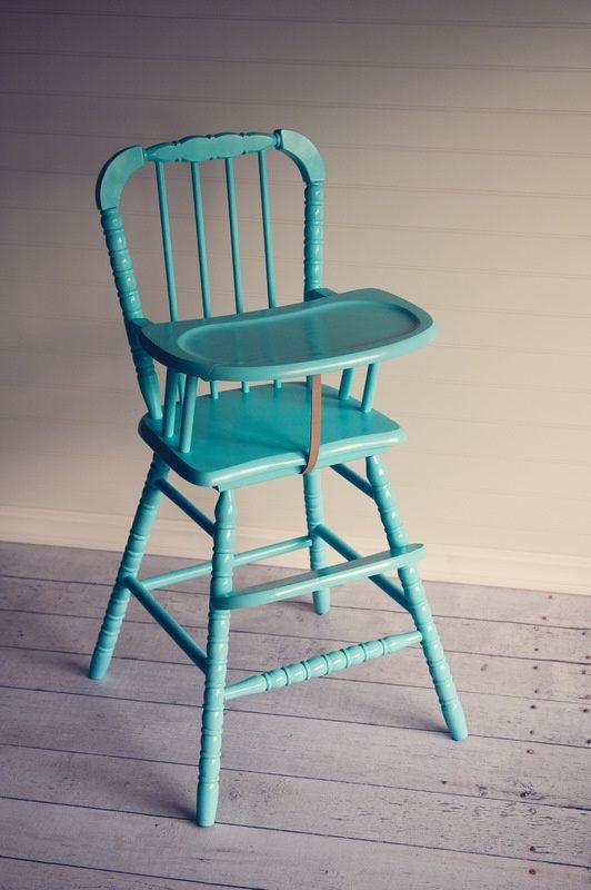 Vintage Wooden High Chair For Sale - Vintage Wooden High Chair For Sale Baby Pinterest High