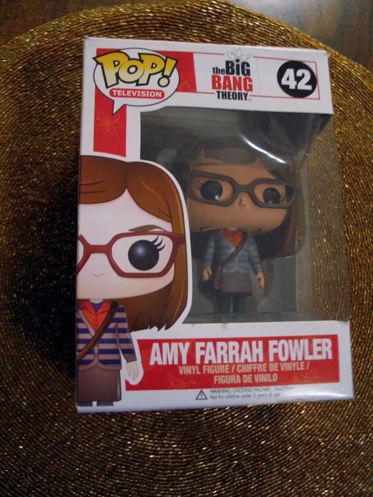 TV Funko Pop Amy 38581 Big Bang Theory