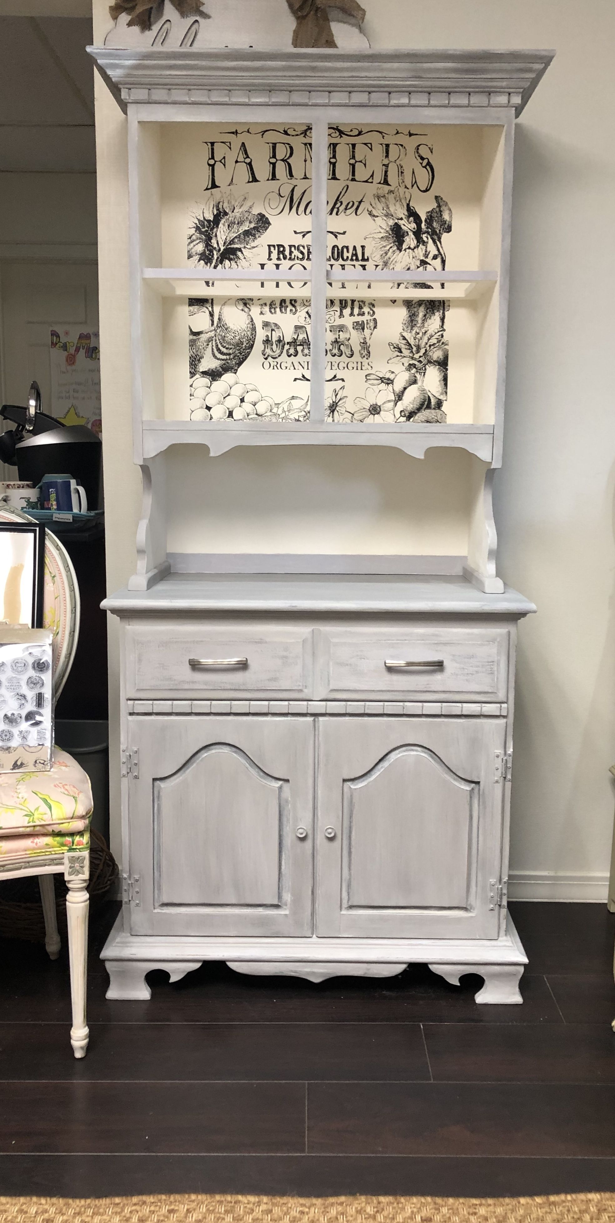 Annie Sloan Chicago Grey Painted Furniture