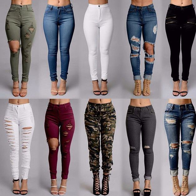 Pantalones Diferentes Tipos Pantalones De Moda Ropa Camuflada Ropa Juvenil De Moda