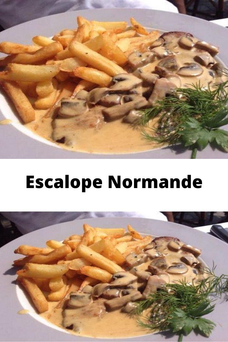 Escalope Normande Page 2 Toutes Recettes Escalope Normande Recette Normande Recettes De Cuisine