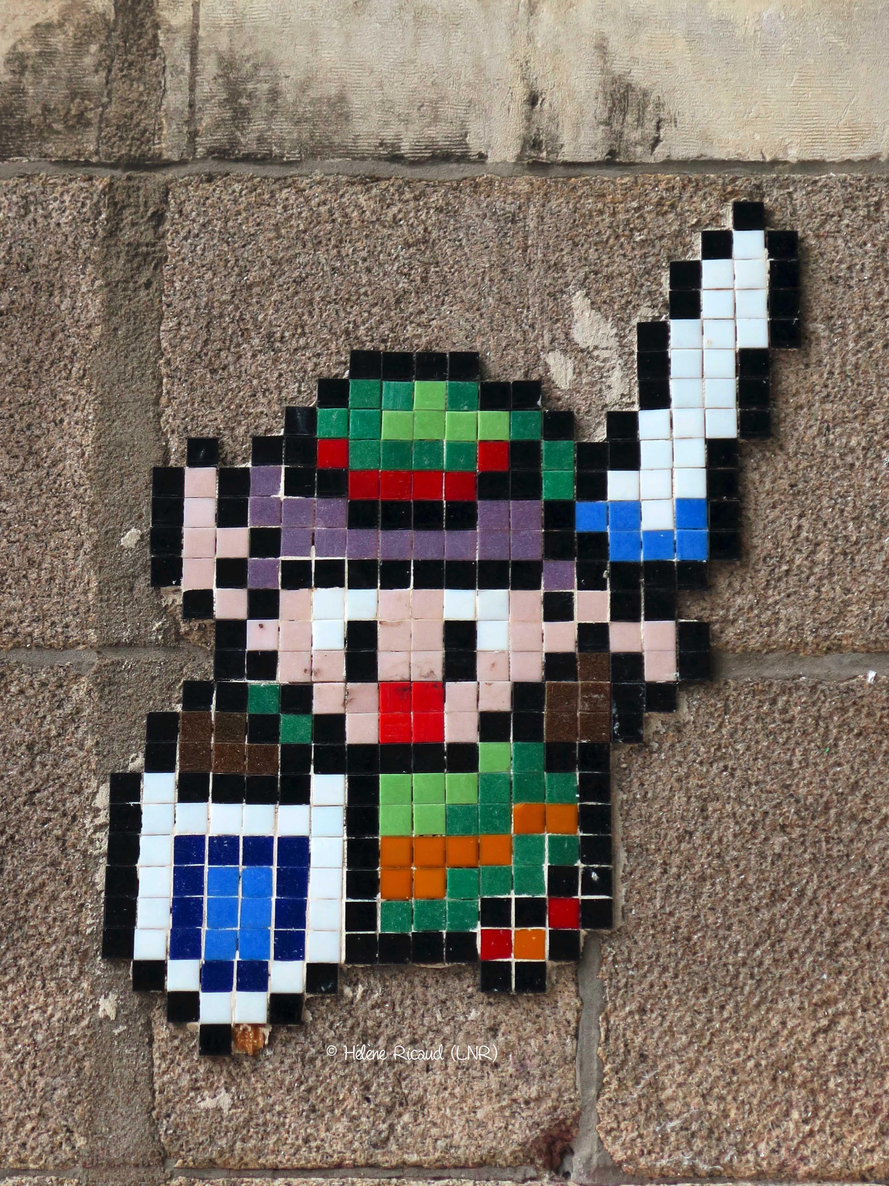 Art color nantes horaires - Space Invader Artiste Invader _nantes Loire Atlantique France