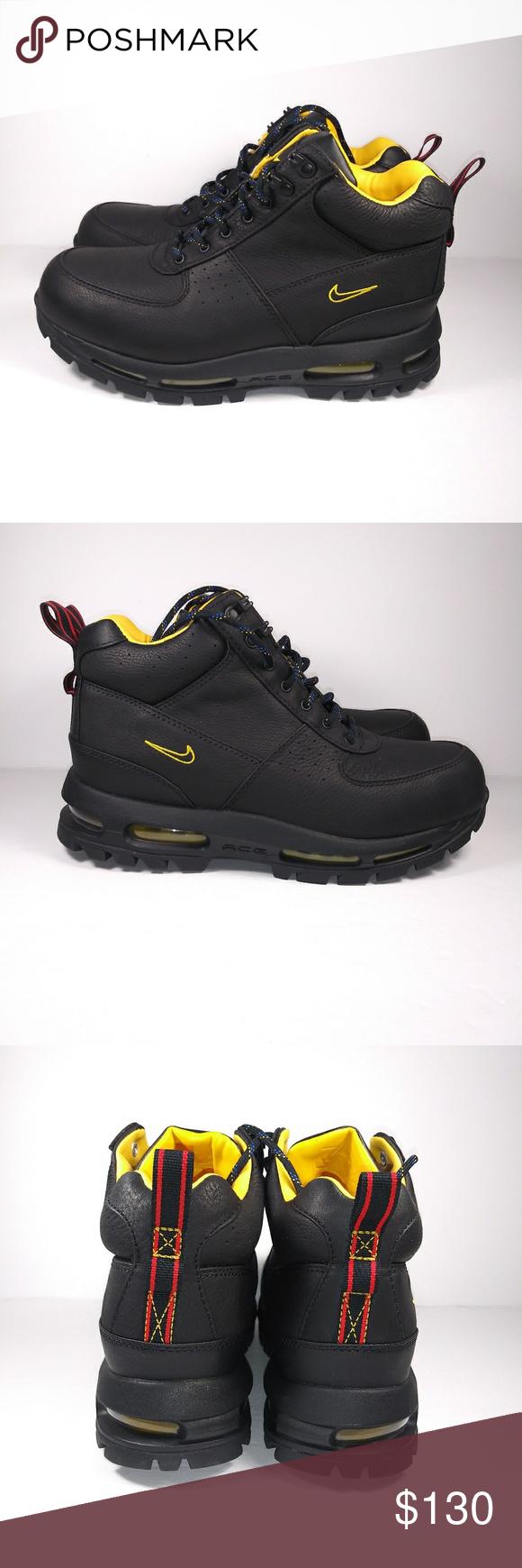 Men's Nike Air Max Goadome ACG Boots DMV Black Siz Men's ...