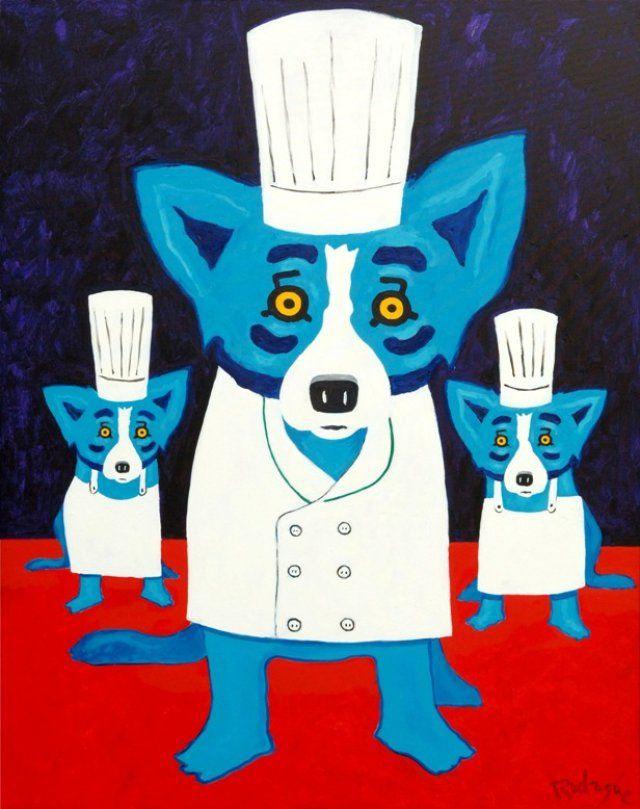 George rodrigue blue dog powerpoint presentation