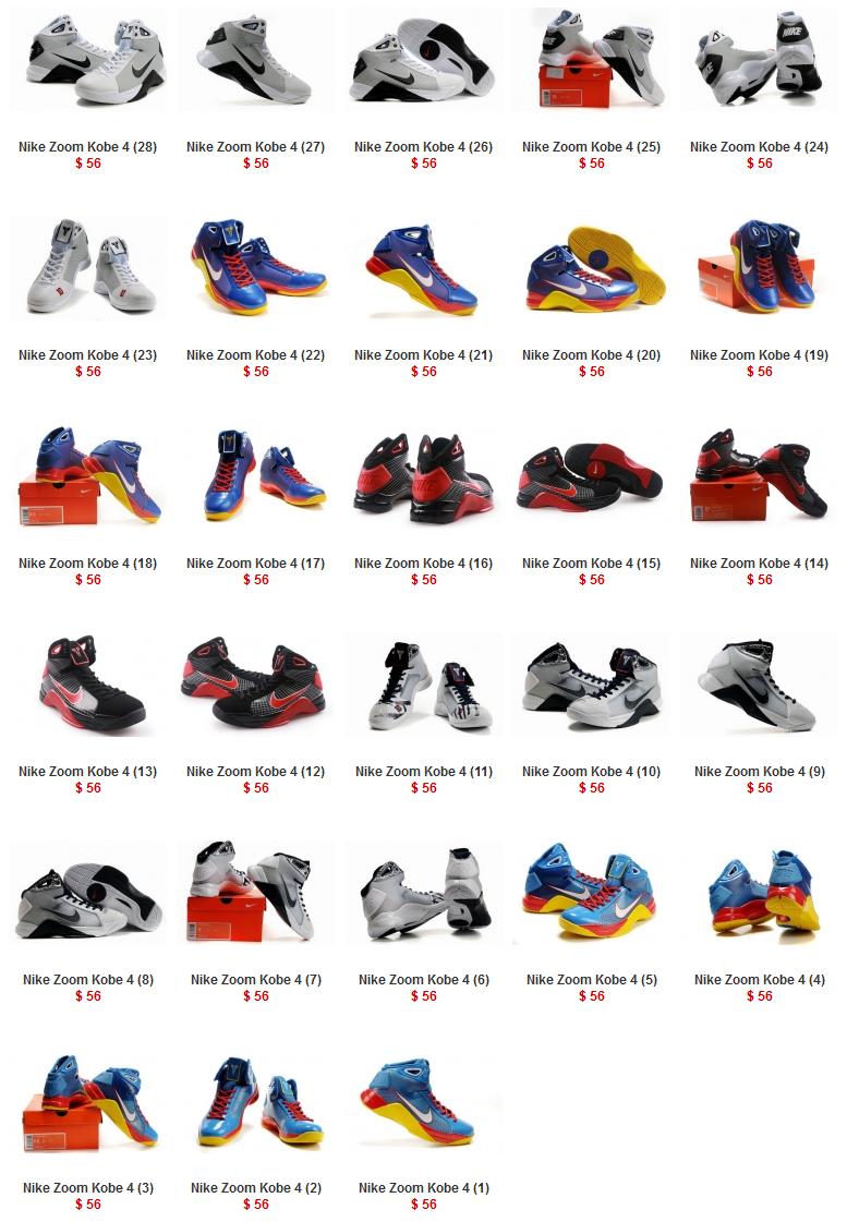 premium selection 2f328 767ce Nike Zoom Kobe 4