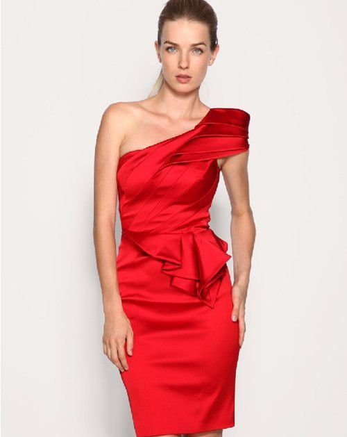 Cocktail Dresse Red Party Dress | Cocktail-Dress-Dresses-one ...