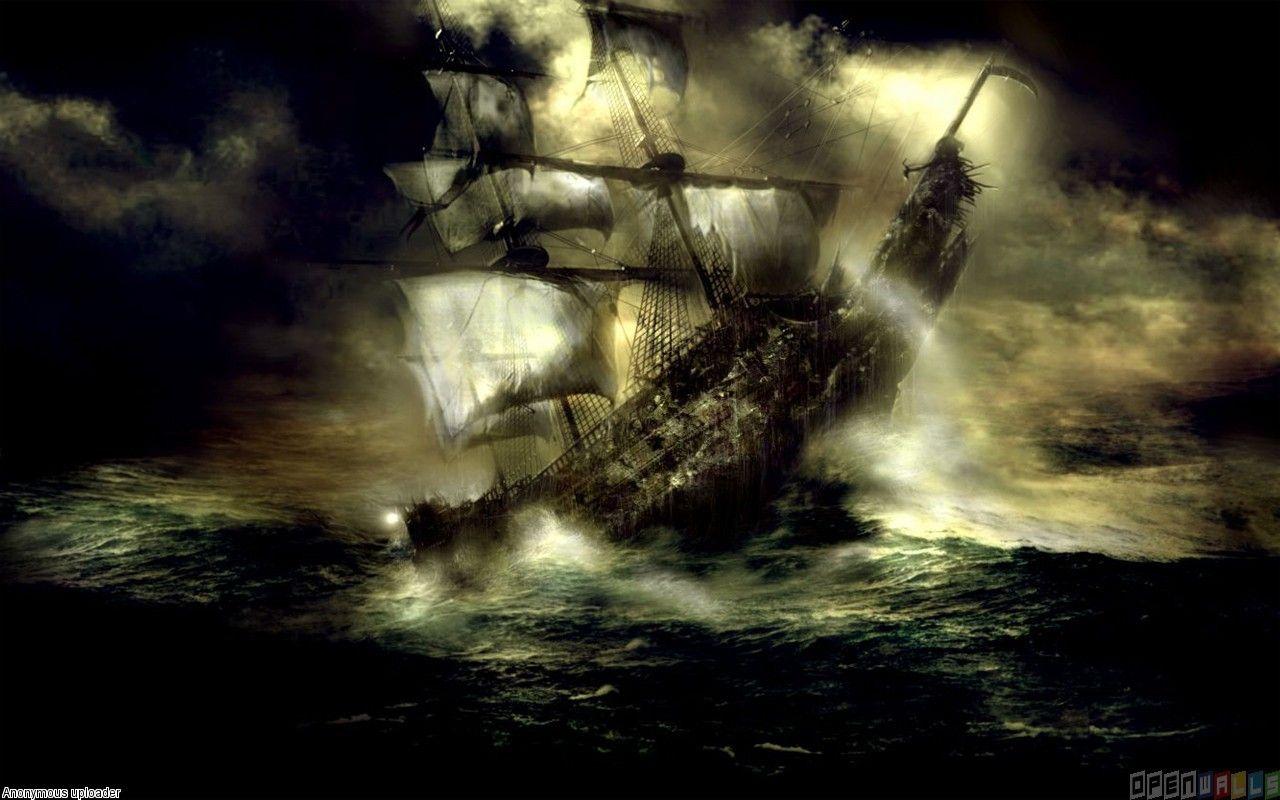 Pirates Of The Caribbean Black Pearl Wallpaper Desktop Ajl