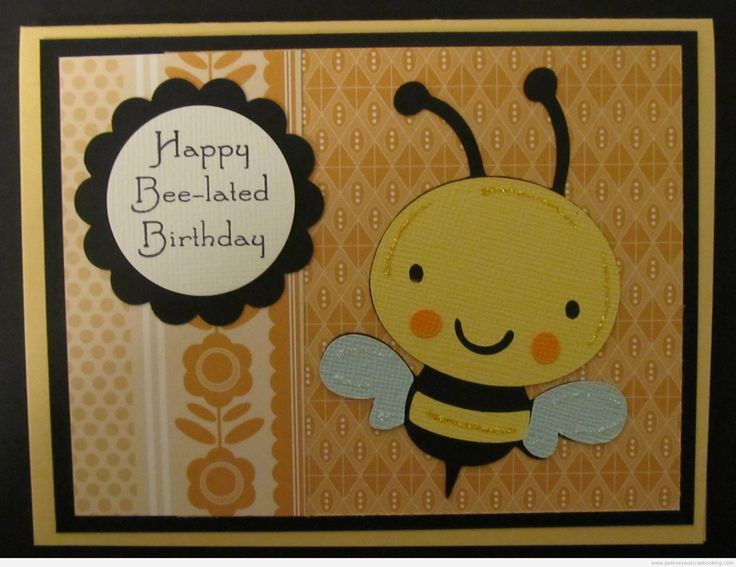 Belated Birthday Card In 2018 Handmade Birthday Cards Pinterest