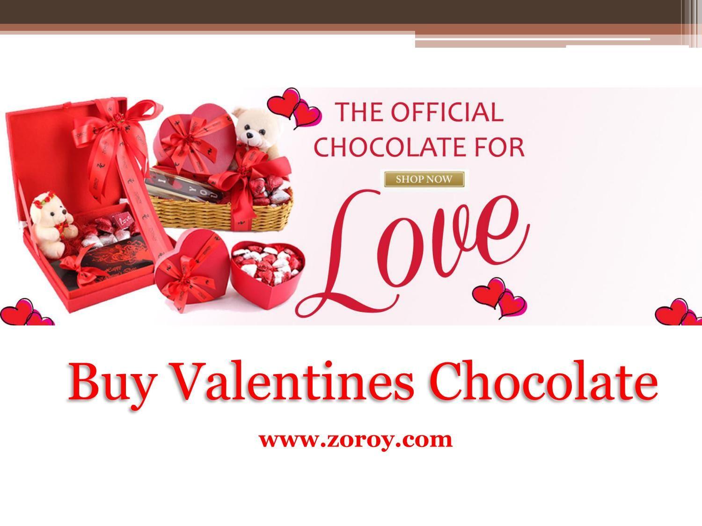 Buy Valentines Day Chocolate Gift For Girlfriend Zoroy Valentine