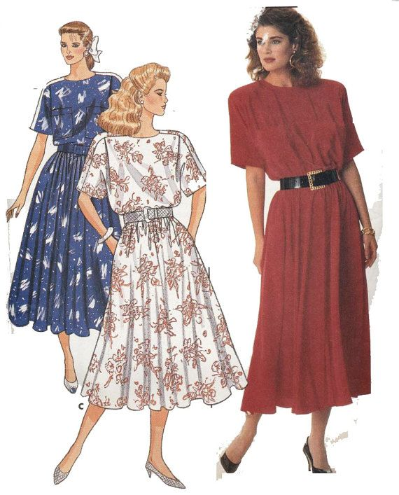 Butterick 5622 Sewing Pattern Misses Dress  Sizes by PatternWalk
