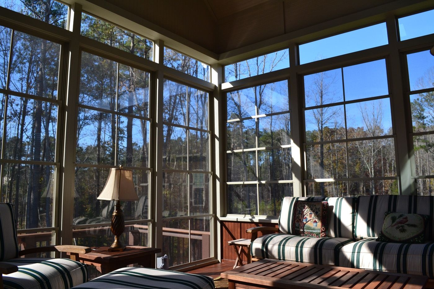 How To Winterize My Raleigh Screened In Porch Archadeck Outdoor Living House With Porch Porch Windows Building A Porch