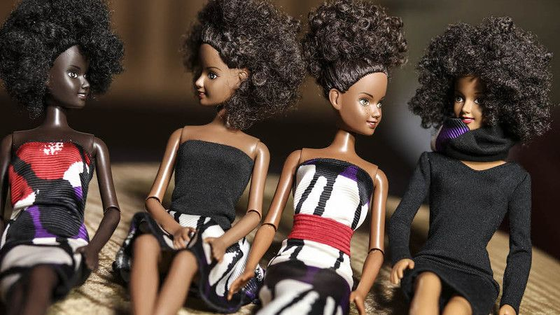 Mala Bryan's Malaville black dolls.