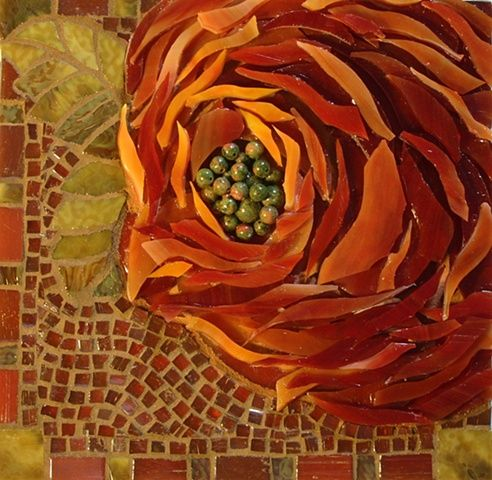 ❤ - Lin Schorr...one of my favorite mosaic artists