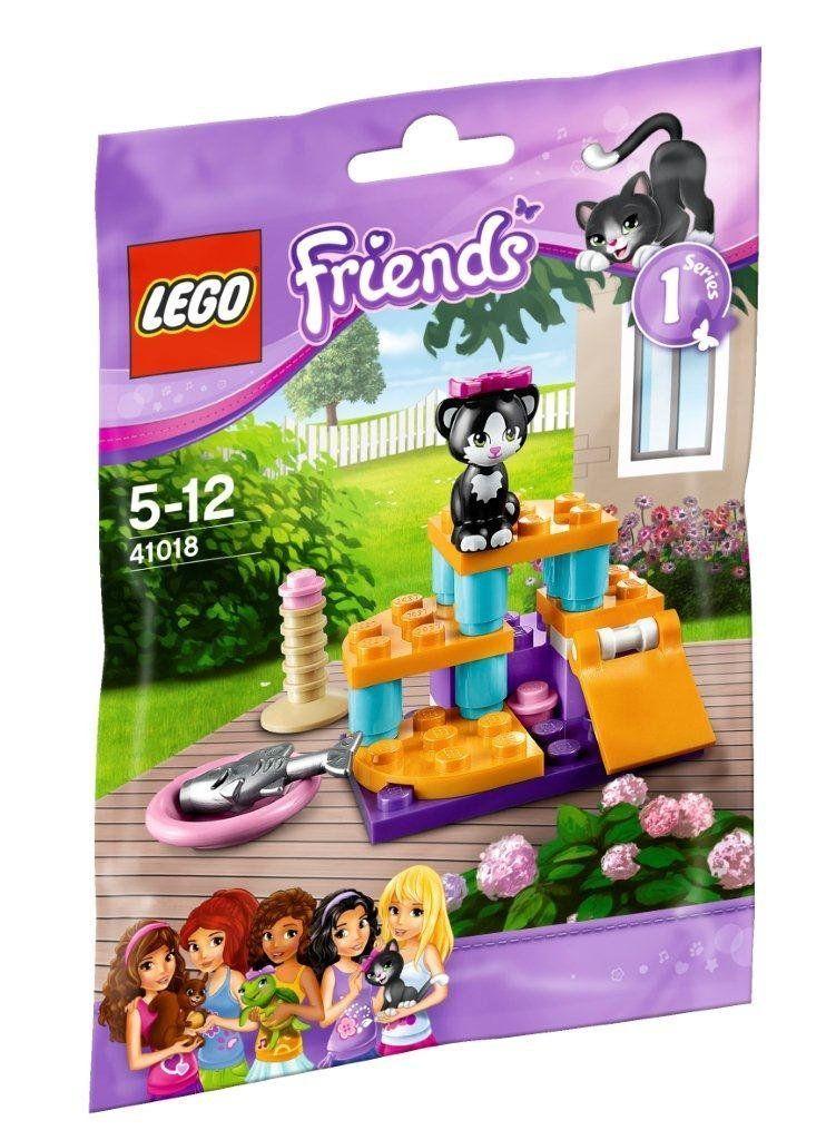 lego friends 41018 le chat et son aire de jeux amazon. Black Bedroom Furniture Sets. Home Design Ideas
