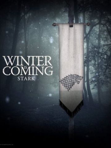 Winter Is Coming Stark Wallpaper Iphone Blackberry Hbo Game Of Thrones Game Of Thrones Poster Winter Is Coming Wallpaper