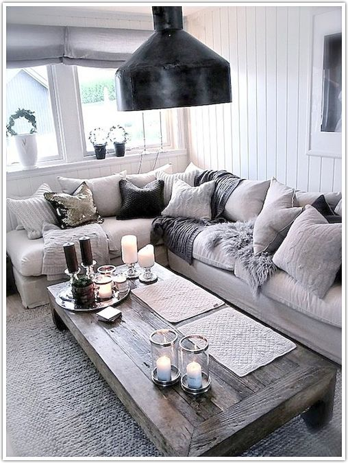 Coffee Table With The Light Colored