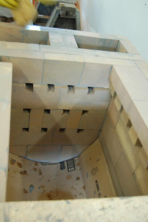 Experimental masonry hydronic heating workshop