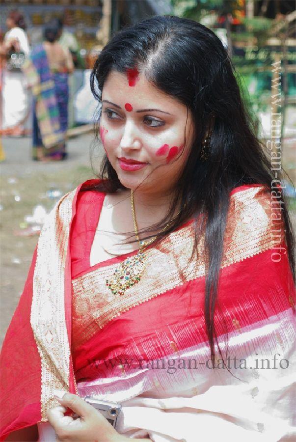 Sindur Khela 2014 Beautiful Bengali Girls - Durga Puja 2014 -3390