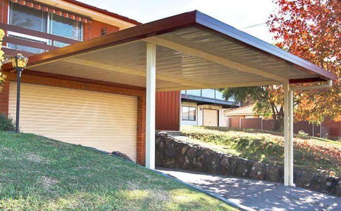 diy kit 3m x 3m skillion carport outdoors sheds cubbies carports carports ideas