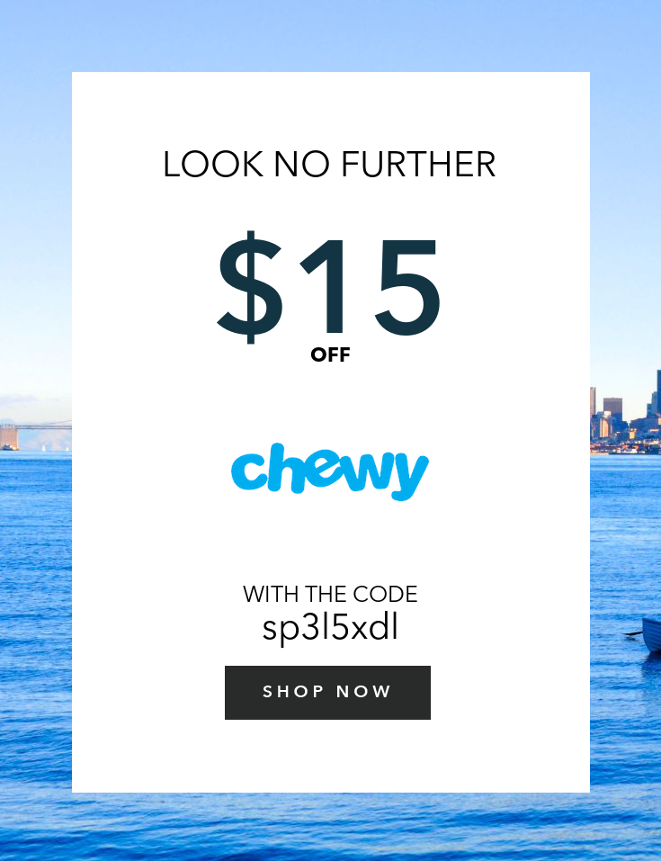 Chewy discount coupon codes