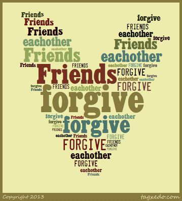 Image result for forgive friends