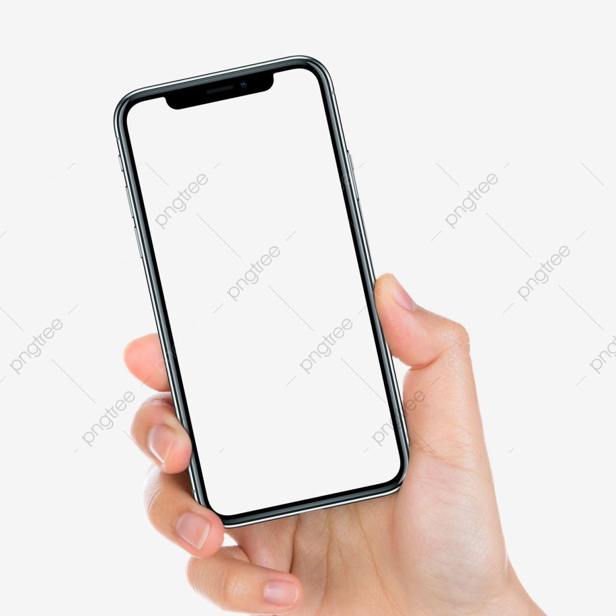 Iphone X In Hand Mockup Mobile Phone Replenishing Png Transparent Clipart Image And Psd File For Free Download Iphone Clip Art Phone
