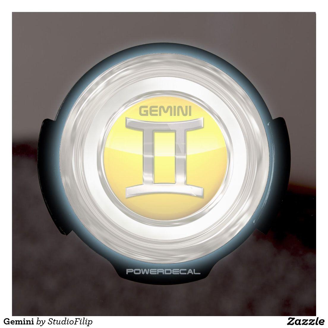Gemini LED Car Decal