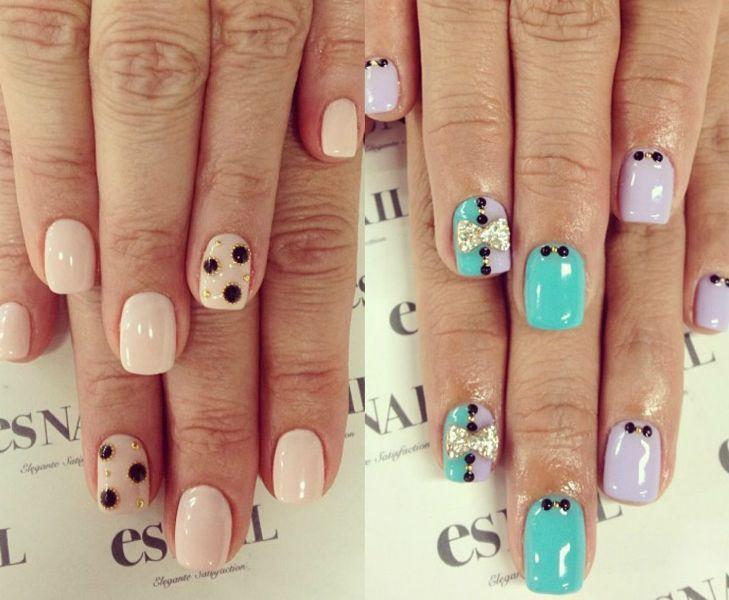 Modele Unghii Cu Gel Patrate Nails Beauty