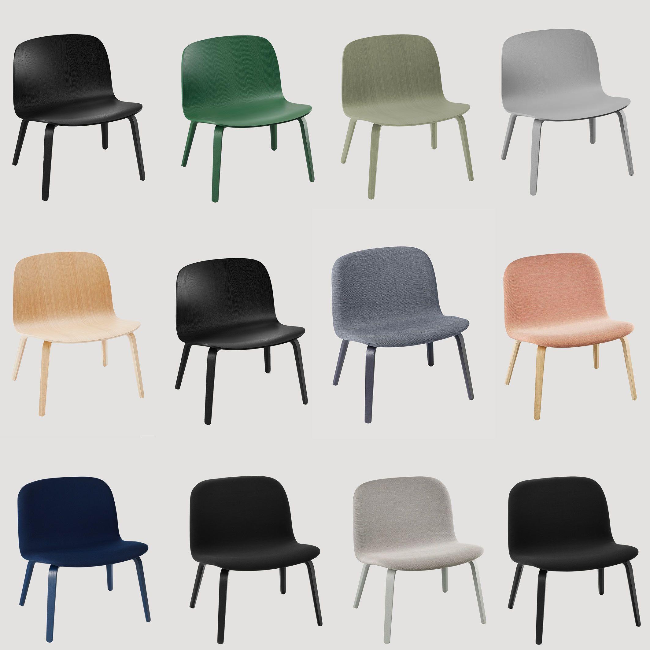 Lage Lounge Stoel.De Muuto Visu Lounge Chair Is Verkrijgbaar In 5 Houten