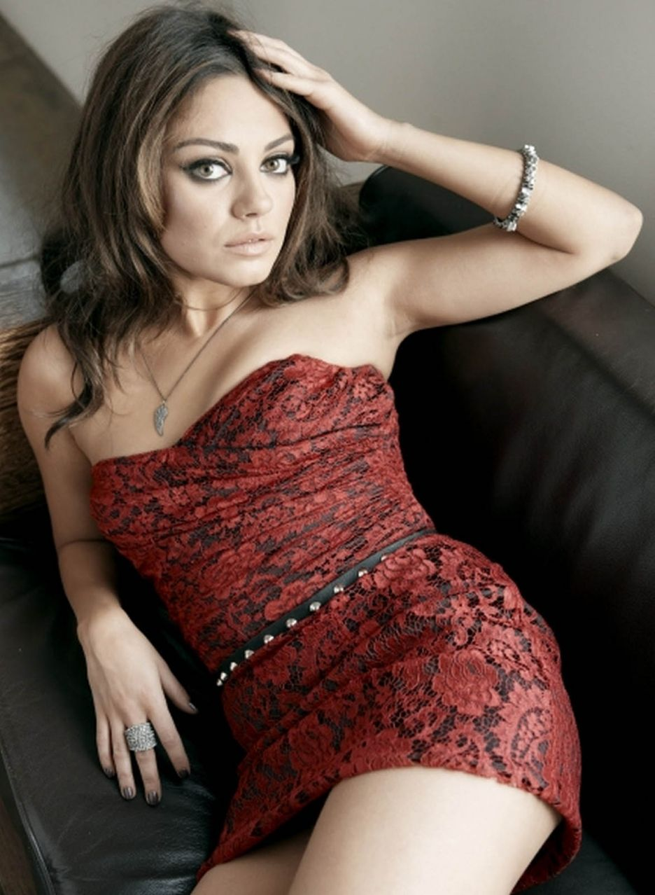 Mila Kunis-I think she resembles a young Anne Bancroft.Loved her in The Black  Swan