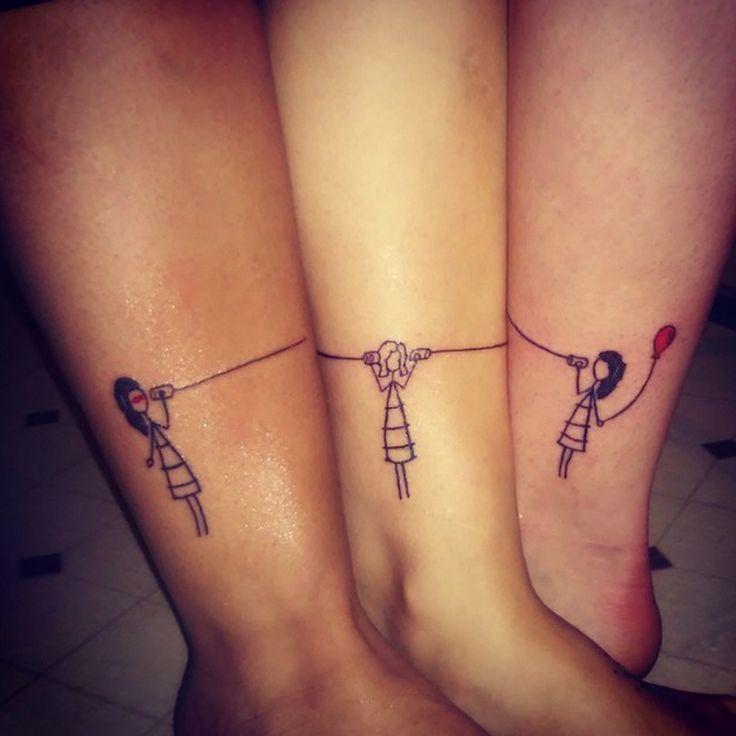 unique Friend Tattoos - 15 Friendship Tattoos That Aren\'t Totally ...