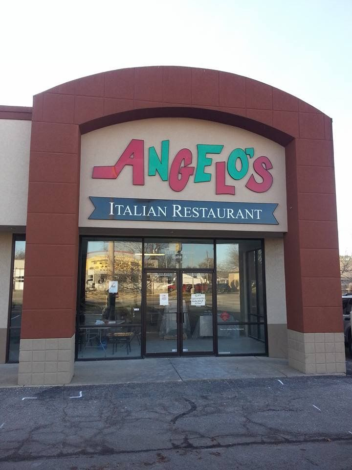 Angelos Italian Restaurant Wichita Best Food Ever Love The Pickled Eggplant On Top Of Their Salad