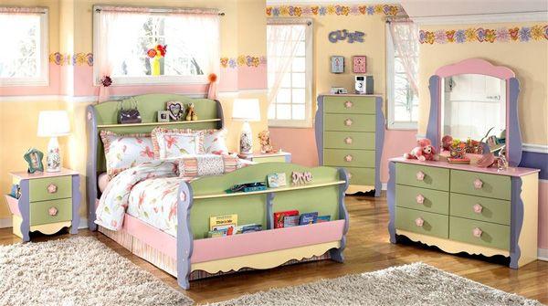 Kids Bedroom Colored Furniture Set | Bedroom | Pinterest | Furniture ...