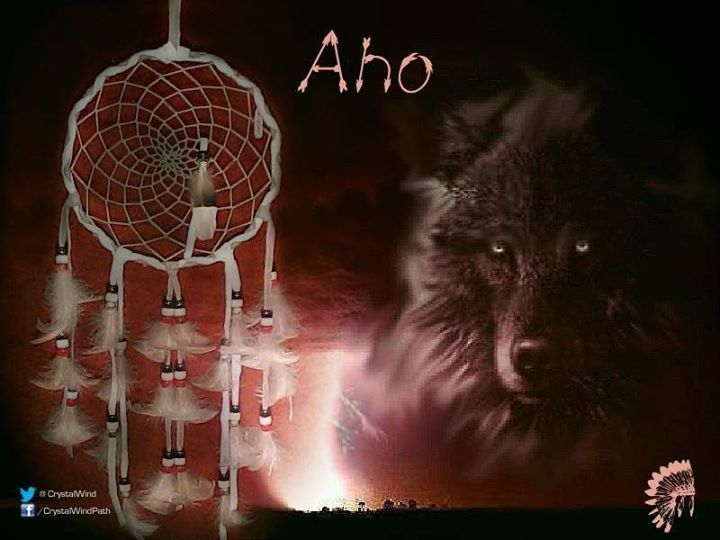 native american word aho