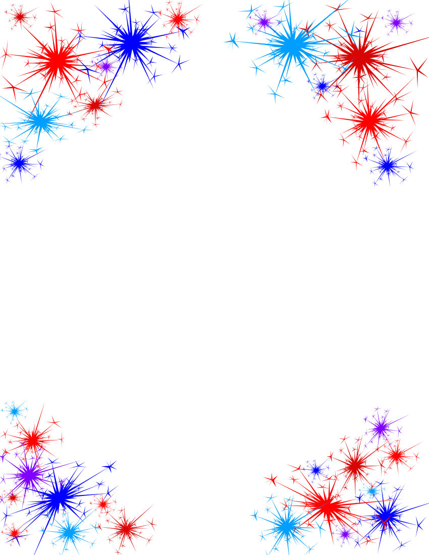 fireworks clipart no background downloadclipart org [ 850 x 1100 Pixel ]