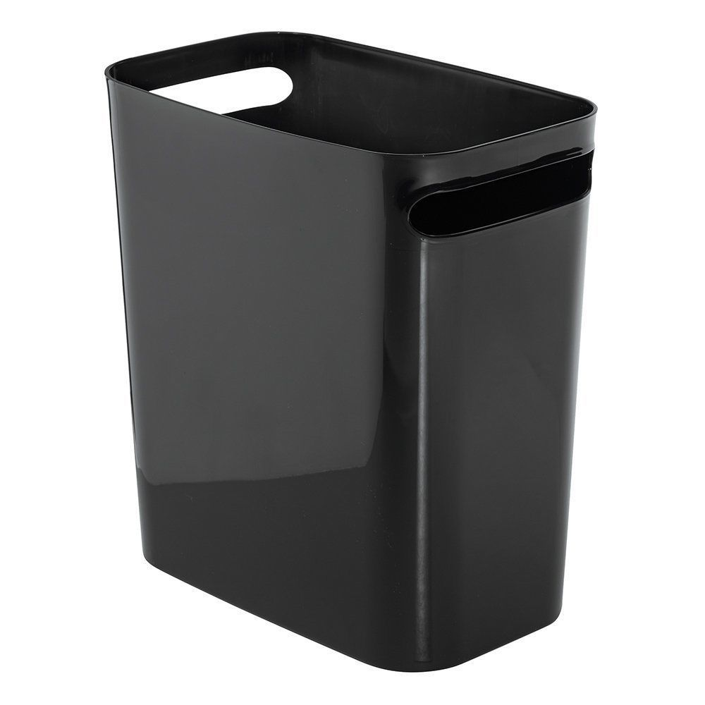 12 Inch Black Bathroom Office Kitchen Wastebasket Trash Can Free Shipping Ta 235 2018 Fundamentals Of Stage Design Recycling Bins Canning Guest Room Offi