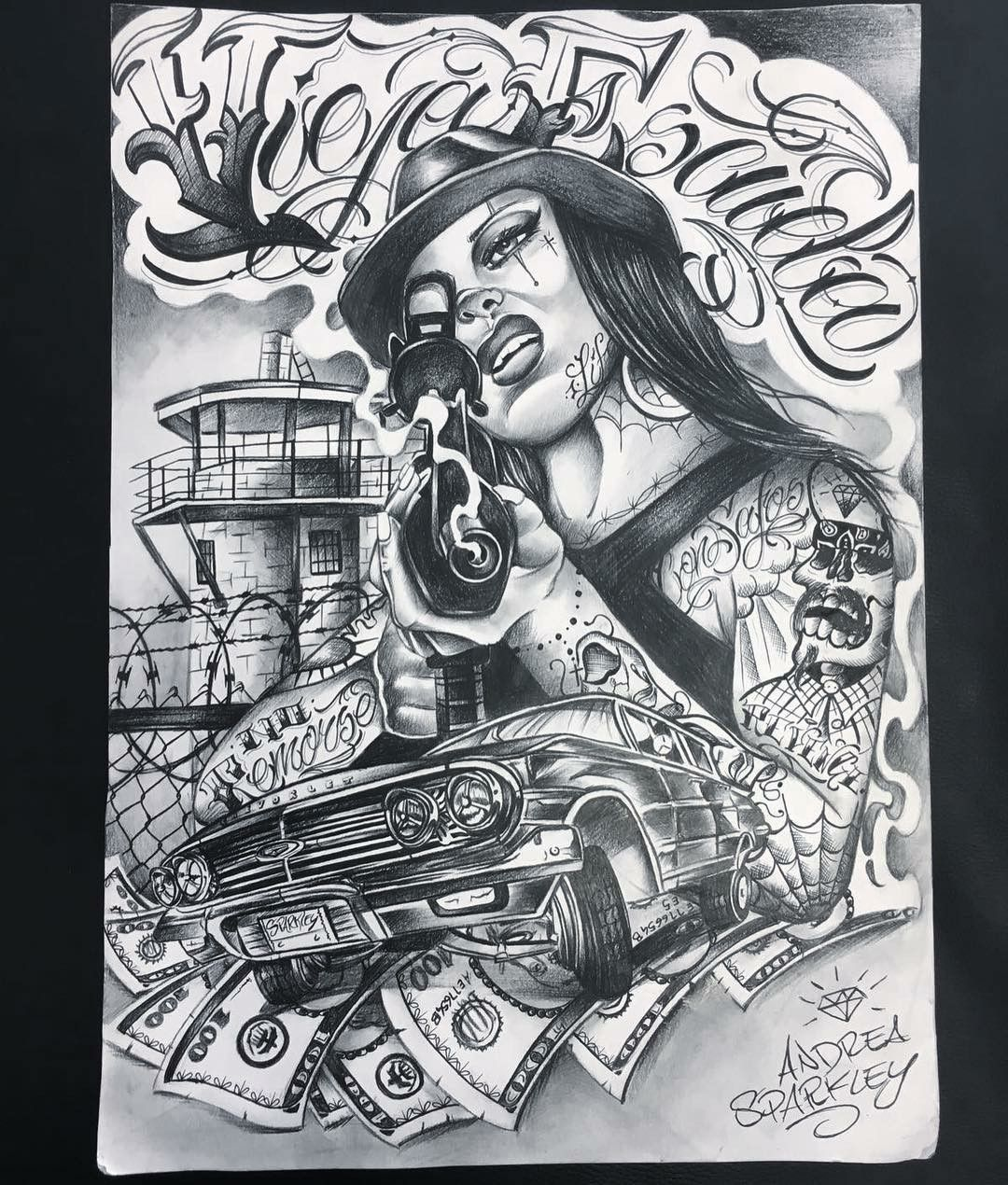 Pin By Raphael Lee On Olhippy Chicano Art Tattoos Chicano